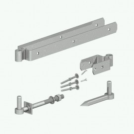 300mm Double Strap Hinge Set