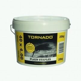 Plain Staples - 20kg Bucket...