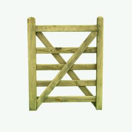 Cross Braced Gates