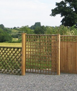 Fence Panels & Posts | Garden Fencing Somerset